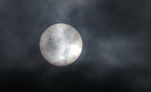 Hình ảnh Sao Kim đi qua Mặt Trời tại VN - 3