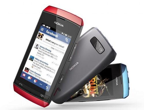 Nokia tung 3 mẫu Asha cảm ứng giá thấp - 5