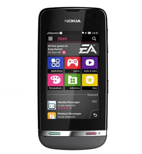 Nokia tung 3 mẫu Asha cảm ứng giá thấp - 2