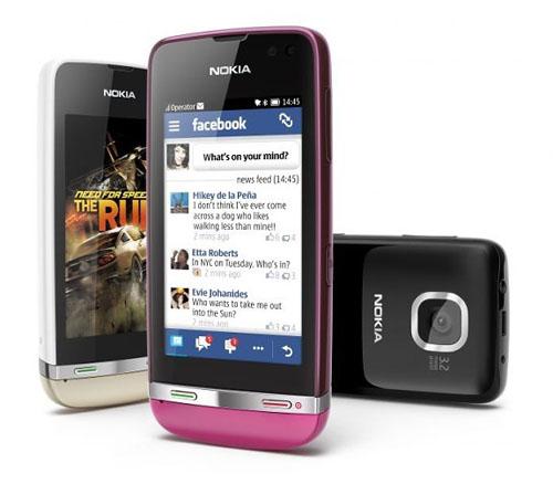 Nokia tung 3 mẫu Asha cảm ứng giá thấp - 3