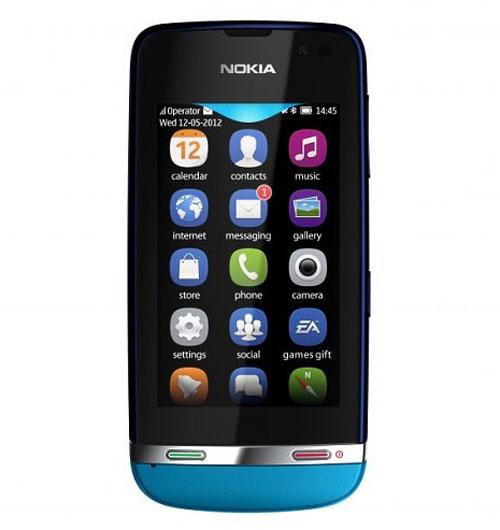Nokia tung 3 mẫu Asha cảm ứng giá thấp - 1