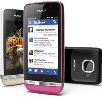 Nokia tung 3 mẫu Asha cảm ứng giá thấp