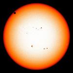 Tin tức trong ngày - Chiêm ngưỡng Sao Kim lướt qua Mặt Trời