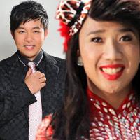 Trấn Thành giả gái hát với Quang Lê