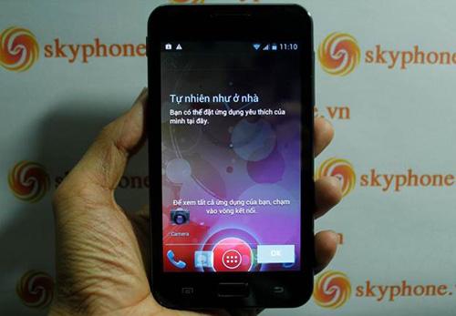 Skyphone VN cho ra mắt chiếc điện thoại lai - 1