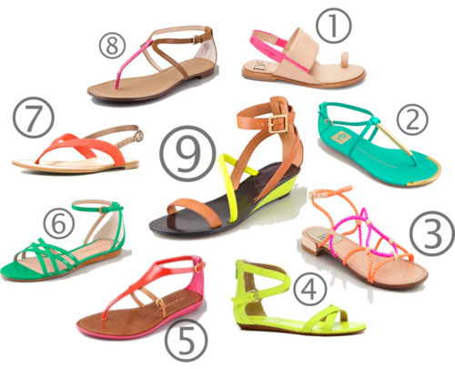 5 kiểu giầy được săn lùng nhất hè 2012 - 14
