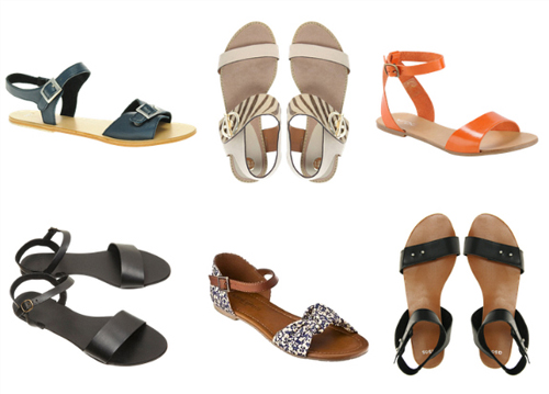 5 kiểu giầy được săn lùng nhất hè 2012 - 13