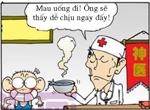 """Truyện tranh """"Thần y Hơ... Lung Tung"""" - 2"""