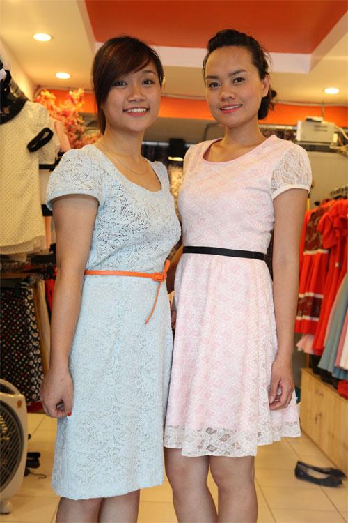 Tinh tế và nữ tính với váy ren - 3