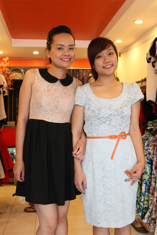 Tinh tế và nữ tính với váy ren - 6