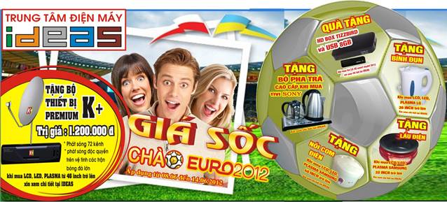 &quot;Gi sc&quot;: cho Euro Cup 2012, Khuyn mi, Th trng - Tiu dng, 