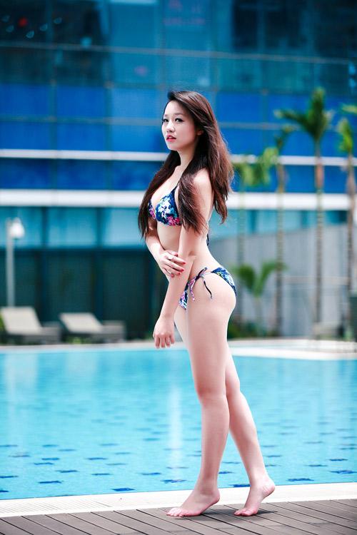 Miss Teen Thu Hà nóng bỏng với bikini - 17