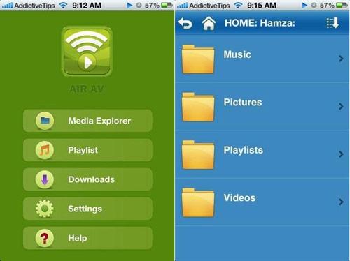 AirAV- Chuyển đổi video, âm thanh & hình ảnh đến iPhone & iPad qua WiFi - 1