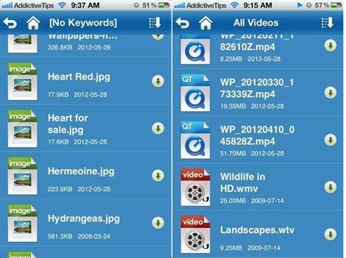 AirAV- Chuyển đổi video, âm thanh & hình ảnh đến iPhone & iPad qua WiFi - 2