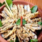 Ẩm thực - Ốc móng tay xào cốt dừa giòn dai