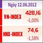 Tài chính - Bất động sản - Chiều 12/6: Cổ phiếu bluechip bị bán tháo