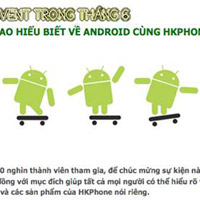 Cuc thi vc Android mng HKPhone t 20.000 thnh vin