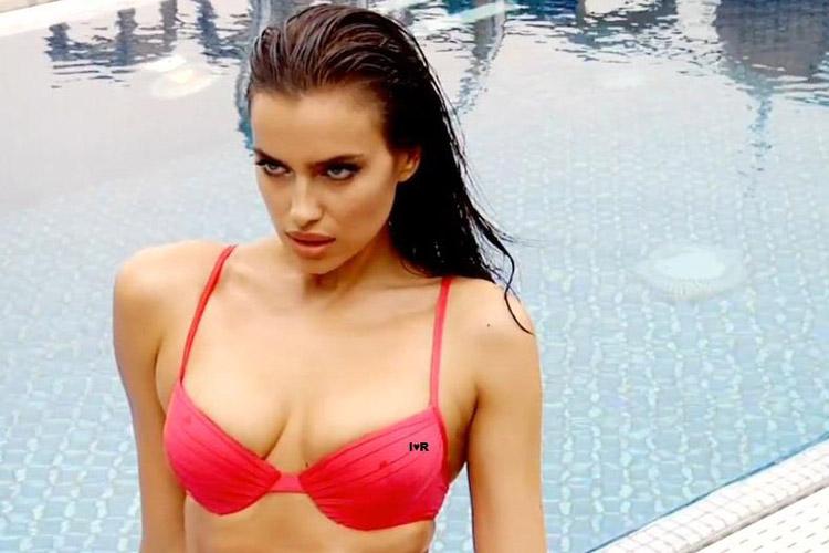 Hậu trường Irina Shayk khoe ngực hút mắt - 17