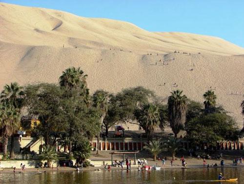 Hucachina - thiên đường nhỏ ở Peru - 16