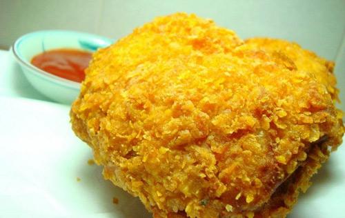 Nuốt nước miếng với món gà rán giòn ngon - 10