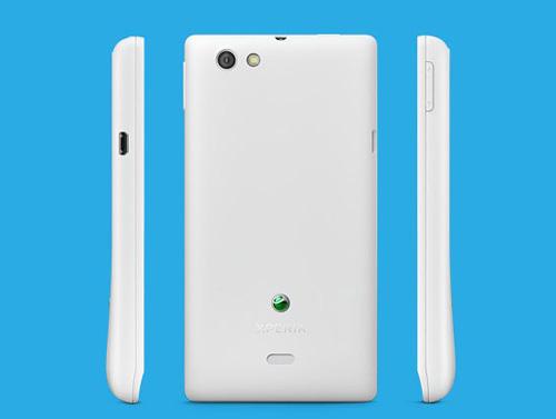 Sony Xperia Miro truy cập Facebook lộ diện - 2