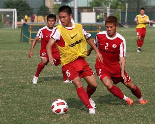 HLV Lư Đình Tuấn quyết cùng U22 VN  giành vé VCK U22 châu Á - 1