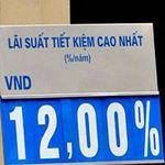 Tài chính - Bất động sản - Lãi suất huy động VND tăng 12%/năm