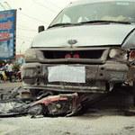 Tin tức trong ngày - Taxi, xe tải kèn cựa nhau, mất 2 mạng người
