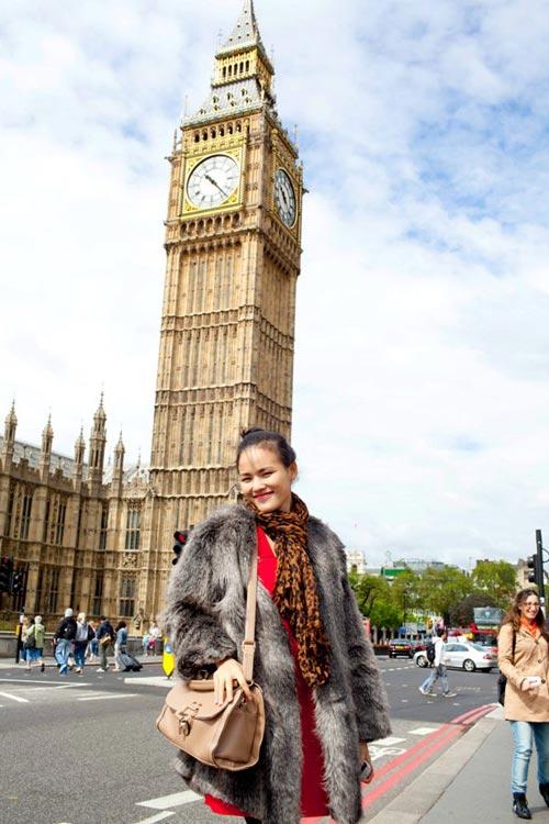 Tuyết Lan, Trà My khám phá London - 7