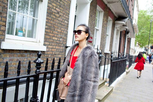 Tuyết Lan, Trà My khám phá London - 4