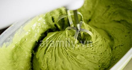 Kem trà xanh mát lạnh thơm ngon - 8