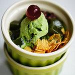 Ẩm thực - Kem trà xanh mát lạnh thơm ngon