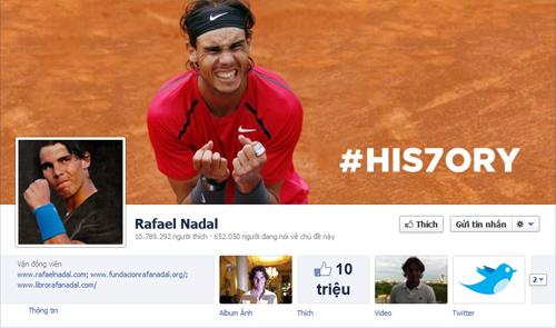 Nadal xô đổ kỷ lục của Federer - 1
