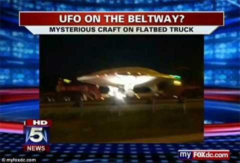 """Sự thật về """"đĩa bay"""" trên đường phố Mỹ - 2"""