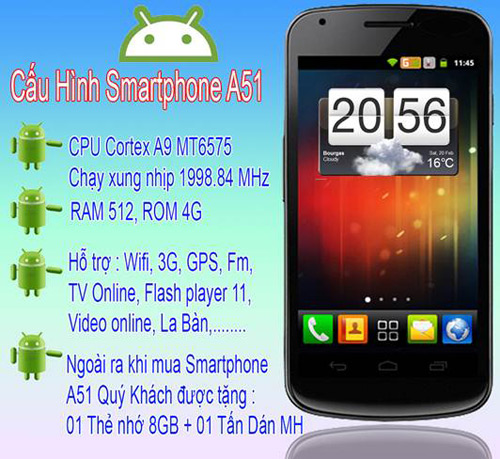 Smartphone A51 ra mt lm thay i th trng Vit, Thi trang Hi-tech, 