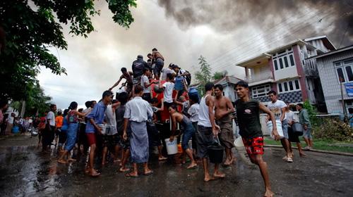 Xung đột sắc tộc ở Myanmar: 29 người chết - 1
