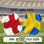 Bóng đá - Anh – Thụy Điển: Quyết tâm đôi công