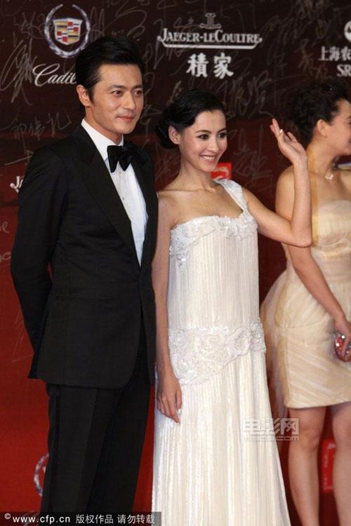 Sao trên thảm đỏ LHP điện ảnh Thượng Hải - 1