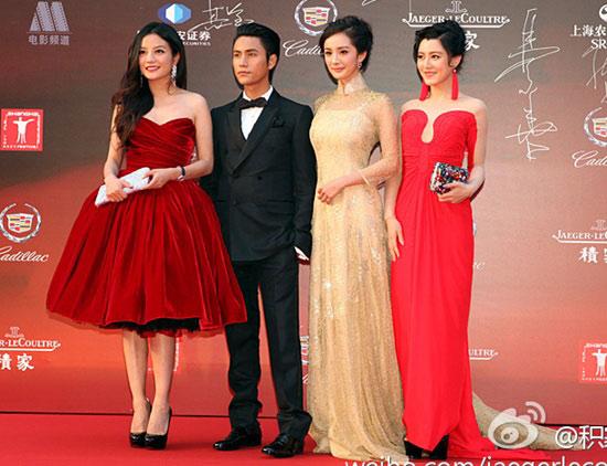 Sao trên thảm đỏ LHP điện ảnh Thượng Hải - 9
