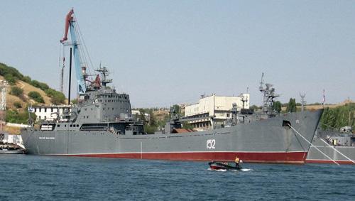 Nga phủ nhận gửi tàu chiến tới Syria - 1