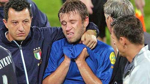 ĐT Italia: Ám ảnh nước mắt Cassano - 1