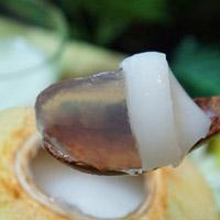 Thạch rau câu trái dừa ngon mát
