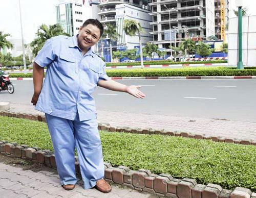 Minh Béo cật lực làm công nhân vệ sinh - 3