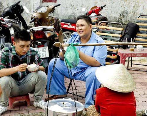 Minh Béo cật lực làm công nhân vệ sinh - 5