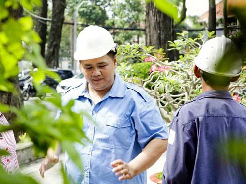 Minh Béo cật lực làm công nhân vệ sinh - 9