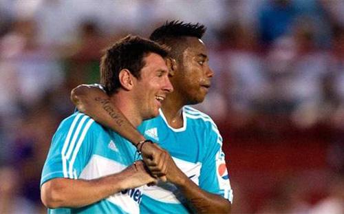 """Messi xác nhận sắp có """"tiểu Messi"""" - 1"""