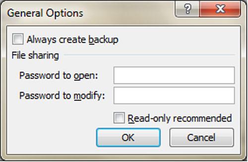 Bảo vệ tài liệu MS Office bằng mật khẩu mà không cần sử dụng phần mềm - 3