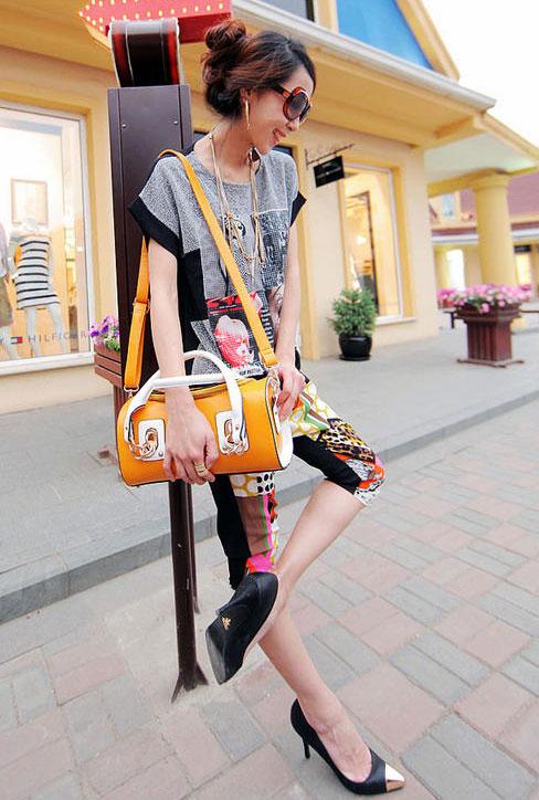 Rực rỡ với túi xách màu neon - 7