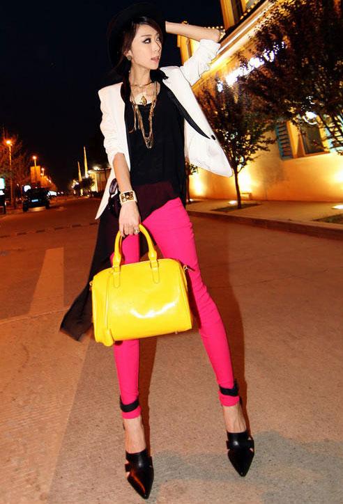 Rực rỡ với túi xách màu neon - 20