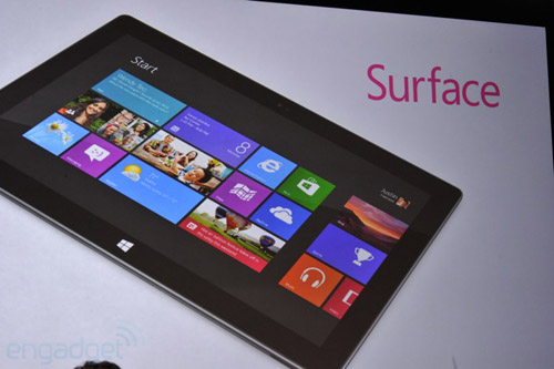 Microsoft Surface nhắm hạ New iPad, Thời trang Hi-tech, Microsoft Surface, Microsoft, Surface, tablet Microsoft Surface, tablet Surface, Microsoft Surface vs New iPad, iPad, gia New iPad, gia Microsoft Surface, may tinh bang Surface, Windows RT, Windows 8 Pro, ra mat Surface, gia Surface